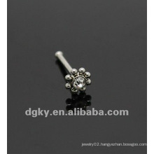 Stainless steel flower nose bone nose piercing jewelry