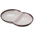Меламин 2-разделен плиты/плиты Карри (WT837)