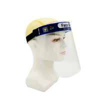 Protectores faciales de plástico transparente antivaho de diseño OEM