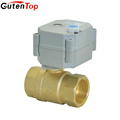 Gutentop Supplier G standard ss306 motor operating ball valve