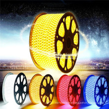 led RGB AC 110V 220V SMD5050 High Voltage Flat led Strip Light With Connector
