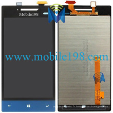 Affichage d'écran d'affichage à cristaux liquides avec le convertisseur analogique-numérique d'écran tactile pour des pièces de HTC 8s