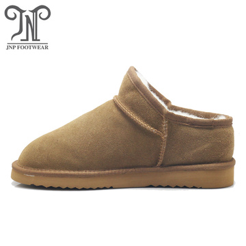 Women latest fashion comfortable wool ankle boots