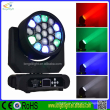 NUEVOS productos Luz CALIENTE de la VENTA 19 * 10W RGBW4in1 LED que enciende la luz de China guangzhou de la iluminación