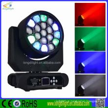 NOVOS produtos Luz QUENTE do diodo emissor de luz da iluminação do diodo emissor de luz de 19 * 10W RGBW4in1 China luz de guangzhou
