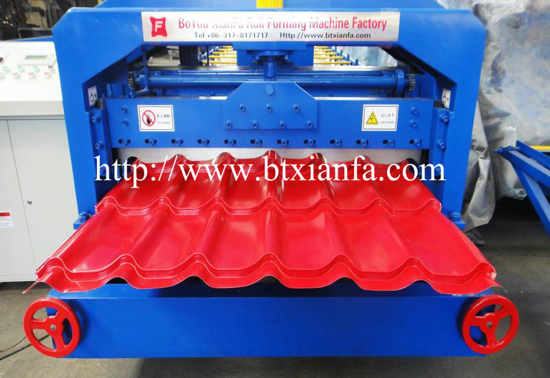 steel roof tile forming machine 4