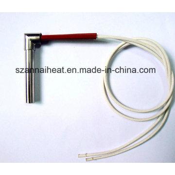 Elemento de aquecimento de cartucho de aquecedor tubular de ângulo reto (DTG-124)