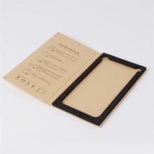Caixa de papel da tela dobrável do telemóvel do livro