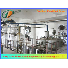 Vibrating fluidized bed dryers of soybean meal