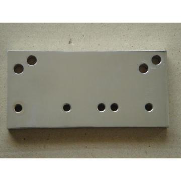 Placa de aço usinagem CNC de alta precisão