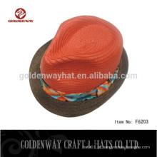 Novos chapéus de palha de design para senhoras