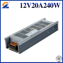 Slim Converter 12V 20A 240W For LED Strip