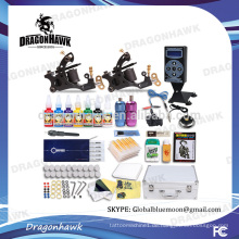 Großhandel Professionelle Tattoo Kits Tattoo Maschine Kits 2 Tattoo Maschinen