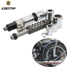 1 Pair Retro Motorcycle Rear Wheel Shock Absorber Motorcycle For CJ-K750 M72 R50 R1 R12 R71 750cc Motorcycles