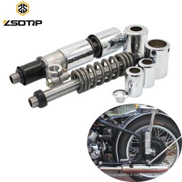 1 paire d'amortisseur de roue arrière de moto rétro pour CJ-K750 M72 R50 R1 R12 R71 750cc motos