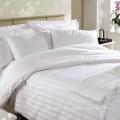hotel 100% algodão Sateen Striped percal bedding set