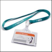 Выдвижной дешевый Имя / удостоверение личности Значок Барабанный держатель Пользовательский ремешок с зажимами (NLC020)