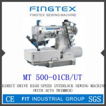 Alta velocidad con condensador de ajuste Auto bloqueo de la máquina de coser (MT 500-01CB/UT)
