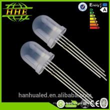 5mm 8mm 10mm RGB led diodo emisor de luz