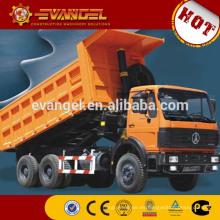 China camión de basura barato Top venta BEIBEN marca de camión volquete para la venta shanqi camiones de volteo