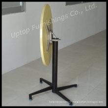 Table pliante à roulettes HPL en bois stratifié (SP-RT375)