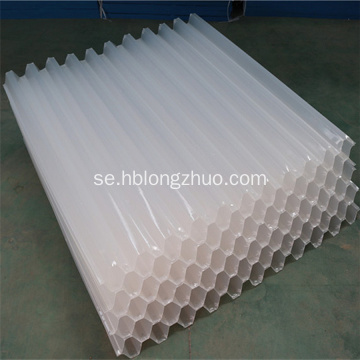 Anti UV PP PVC Lutande Honeycomb Tube Settlers