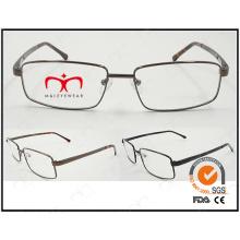 Neue Art und Weise Eyewear Rahmen-Metall optischer Rahmen (WFM501006)