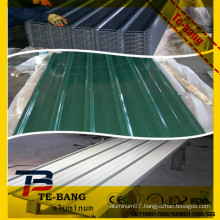 color aluminum roof corrugated aluminum