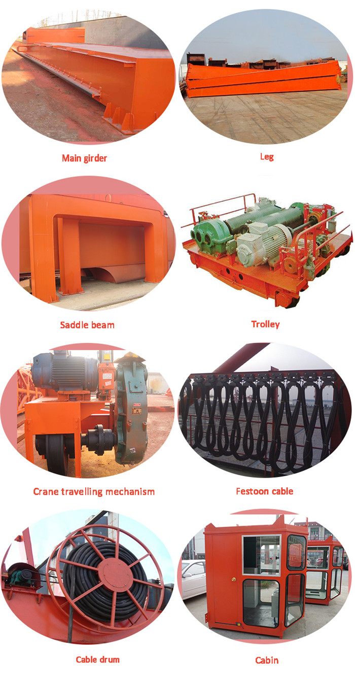 Mg Double Girder Crane Parts
