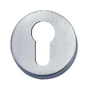 Cylinder-Profile Hole Round Escutcheon