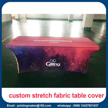 Logo Printed 6ft Stretch Tischdecke