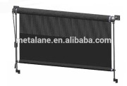 Electrical sunshade curtain for bus and truck