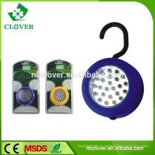 3 * батарея AAA супер яркая 24 водить гибкий магнитный свет работы