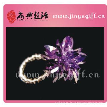 Shangdian Cultcred Collection de bijoux Bague élastique Bague Artisanat