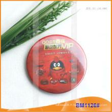Badges à boutons en étain, badge promotionnel, badge rond PinBM1126