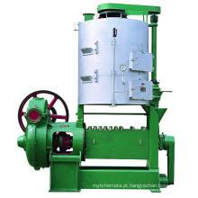 Grande máquina da imprensa de óleo do parafuso, equipamento contínuo do óleo do impulsionador para o semente de algodão, colza, mamona, sementes de girassol, amendoim