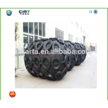 manufacturer supply 1.5m *3 boat marine rubber fender with Galvanized Chain and Tyre made in china