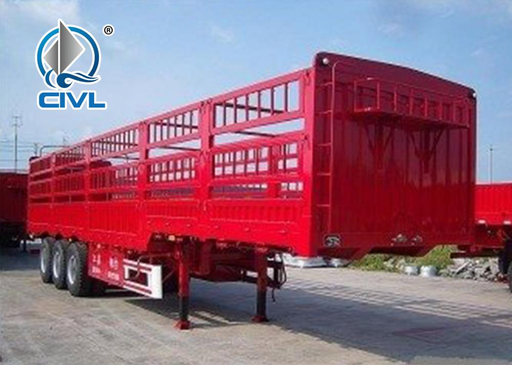 3axle Cargo Semitrailer 2