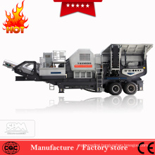 2018 HOT SALE mobile stone crusher with screen