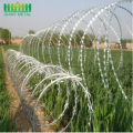 Galvanized Security Fencing Razor Barbed Wire Fence