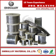 Bwg 26 28 30 Nicr60/15 Supplier Ni60cr15 Wire Annealed Alloy with Factory Price