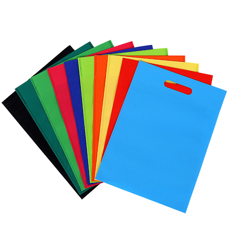 Color Die Cut Handle Bags
