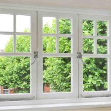 fenêtres de style européen section en aluminium fenêtre auvent