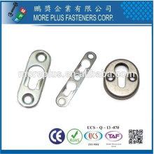 Taiwan Acier inoxydable 18-8 Raccords en laiton en cuivre en laiton Raccords simples pour serrure