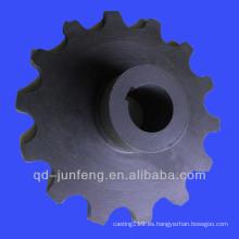 Cadena de cadena personalizada / rueda de cadena de plástico / rueda de cadena