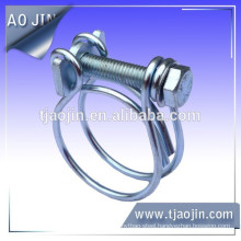 French double wires hose clamp\French Wire hose clamp