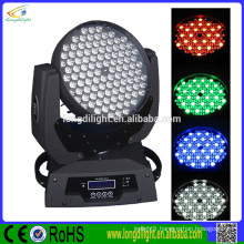 HOT selling 108 3w RGBW LED moving Head Wash Light Color Mixing
