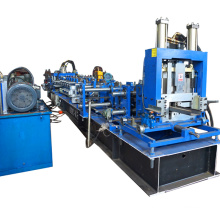 Hebei high quality speed automatic adjustable steel strip cz stud prulin shape c z channel roll forming machine