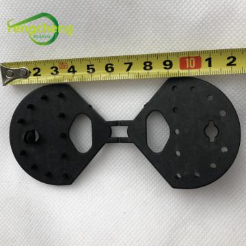 Schwarze Kunststoff-Mesh-Clip Butterfly-Clips für Schattentuch