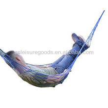 Swing hammock cotton hammocks outdoor color mesh hammock